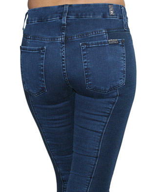 Seven 7 For All Mankind Jeans GWENEVERE PANEL sz 26
