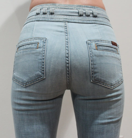 Women Seven 7 For All Mankind Flare Jeans Size 25
