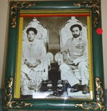 Their Imperial Majesties Haile Selassie I and Empress Menen
