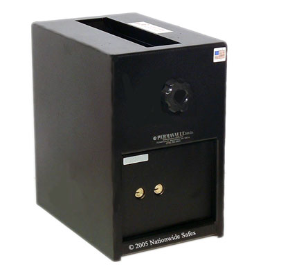 Small Depository Safe w/ Dual Custody Key Locks