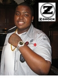 Sean Kingston Rockin His Custom G-Shock by  ZShock