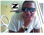 Cool Breeze Ray Rockin The Canary Diamond G-Shock By ZShock