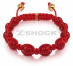 Shockra Steezo BLOOD RED Bracelet by ZShock