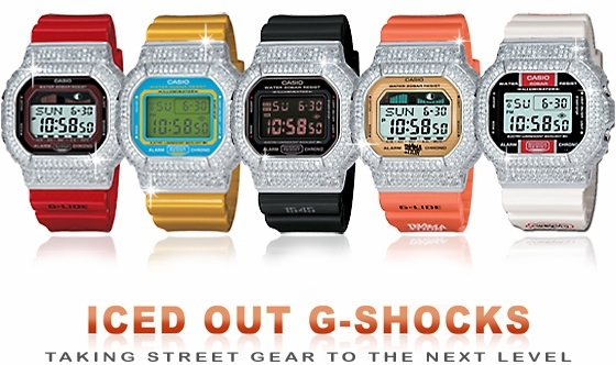 The Maxim Custom G-Shock Bezels by ZShock