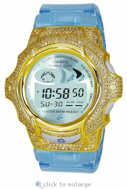 The Amari Beach Club ZShock Bezel Series for G-Shock Baby-G Jelly