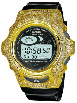The ZShock Bezel Amari Series for G-Shock Baby-G Jelly