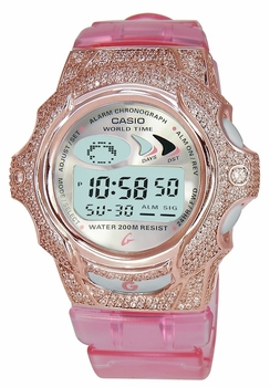 The ZShock Bezel Blush Series for The G-Shock Baby-G Jelly