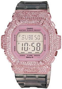 The ZShock Bezel Rosay Series for The Baby-G Luminous