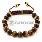 The Shockra Nome Tiger Eye Bracelet by ZShock