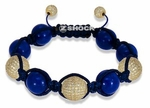 The Shockra Trio Cobalt Bracelet