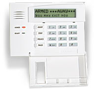 Honeywell 6160RF Alpha Integrated<br> Keypad & Wireless Receiver
