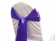 Sash Satin Purple