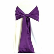 Purple Bengaline Sash