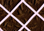 Brown Pink Square Pattern