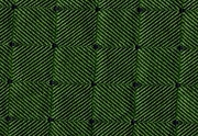 Green with Blue Squares Pattern