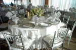 Table featuring this linen
