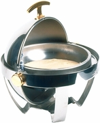 Roll-Top Stainless Round Chafer