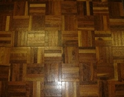 4' x 4' Wood Color Dance Floor