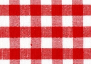 Red and White Square Patern