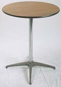 "Cocktail Table 30"" Round x 42"" High"