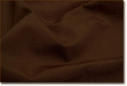 Chocolate Polyester Linen