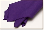 Purple Polyester Napkin Rental
