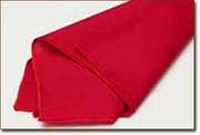 Red Polyester Napkin Rental