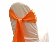 Sash Satin Pumpkin