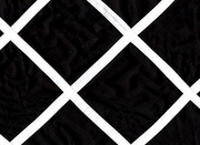 Black White Square Pattern