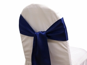 Sash Satin Navy
