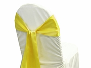Sash Satin Lemon