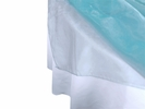 Light Blue Organza Overlay