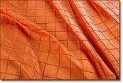 Fire Orange Pintuck Napkin