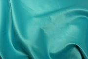 Teal Satin Table Linen Rental