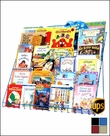 30 6CD 6 Tier Kids Book Rack