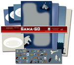 Gama-Go stationary set.