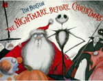Tim Burton's Nightmare Before Christmas Story book