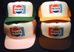 Peace Trucker Caps