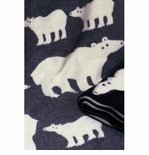 Isbjörn (Polar Bear) Wool Blanket