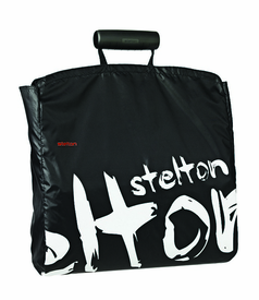 Shopper Shopping Bag, Black Graffiti - Click to enlarge