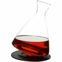Bar Round Bottom Decanter w/ Silicone Tray
