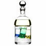 Bar Schnapps Carafe and Ice Container w/ 4 Shot Glasses