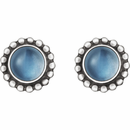 Georg Jensen Moonlight Earstuds Moonstone