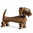 Rosendahl Walnut Dog by Kay Bojesen