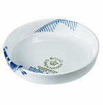 Blue Fluted Mega Ovenwear Pie Dish - 7 in.