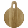 Oval Oak Cutting Board