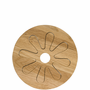 Oval Oak Wooden Trivet, Oak