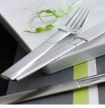 Gense Nobel Steel Flatware