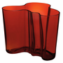 "Alvar Aalto Vase (6.25""), Flaming Red"