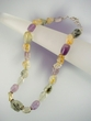 Multigems  & Sterling Silver Beaded Necklace